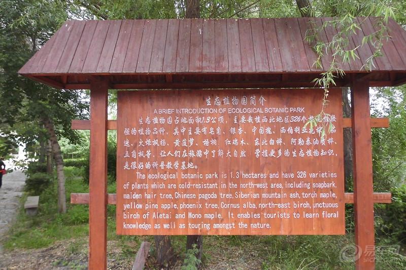 森林公园,位于新疆维吾尔自治区塔城地区沙湾县城西2