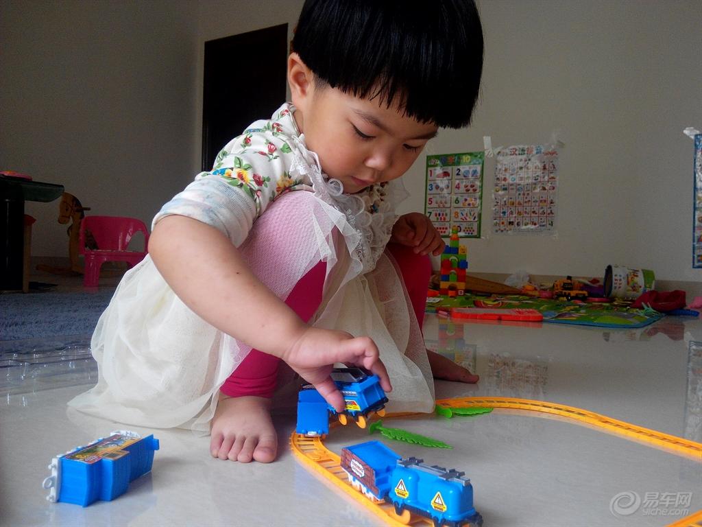 【宝宝玩托马斯小火车!】_福建车友会_汽车论坛