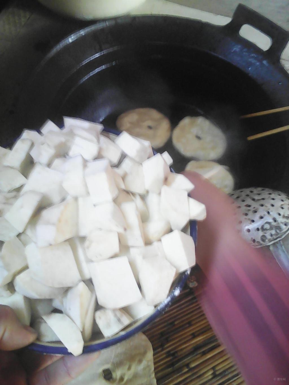 脆皮番薯粒的做法