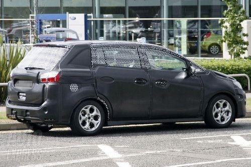 福特新款车型C MAX谍照曝光 将于9月亮相高清图片