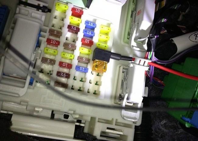 新福克斯加行车记录仪乘员保护系统保险丝能取电吗 -福克斯买车保险高清图片
