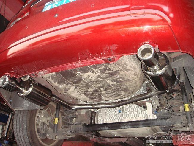 科鲁兹改装f009排气管 效果图高清图片