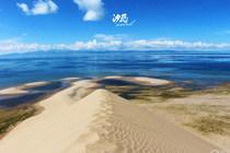 充满异域风情的沙岛——青海湖(七)