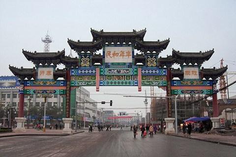 蒲城县位于陕西省关中平原东北部
