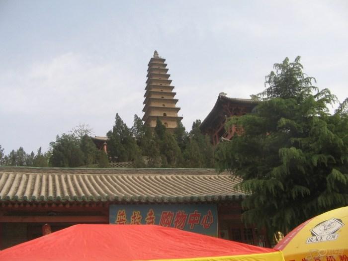 普救寺图片