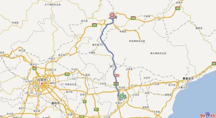 唐山市地图图片