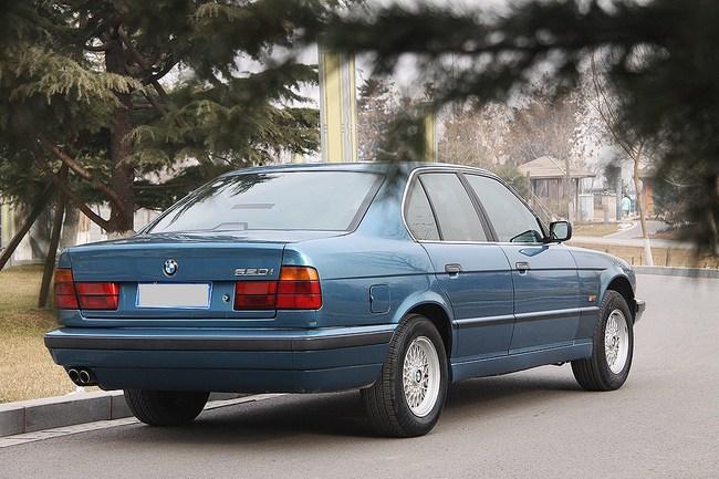 穿越时空的爱恋 试驾E34和G38 1994年5系