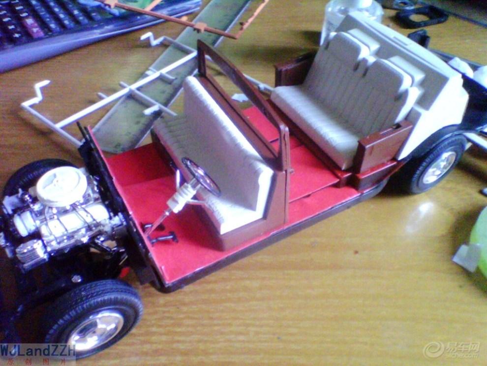 【【手工制作】【经典模型】红旗ca770】_汽车模型