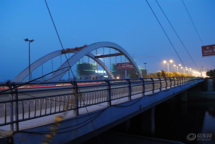 家乡风光暨店埠河县城道路公路桥风景晨拍到天亮