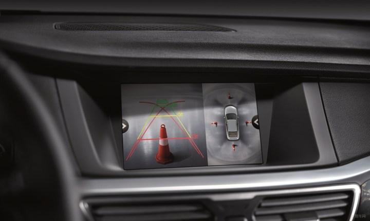 360度全景倒车影像