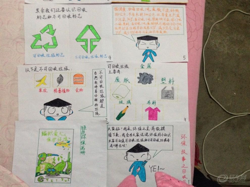"""幼儿园小班作业--环保故事画册(""""拼妈""""时代啊)"""