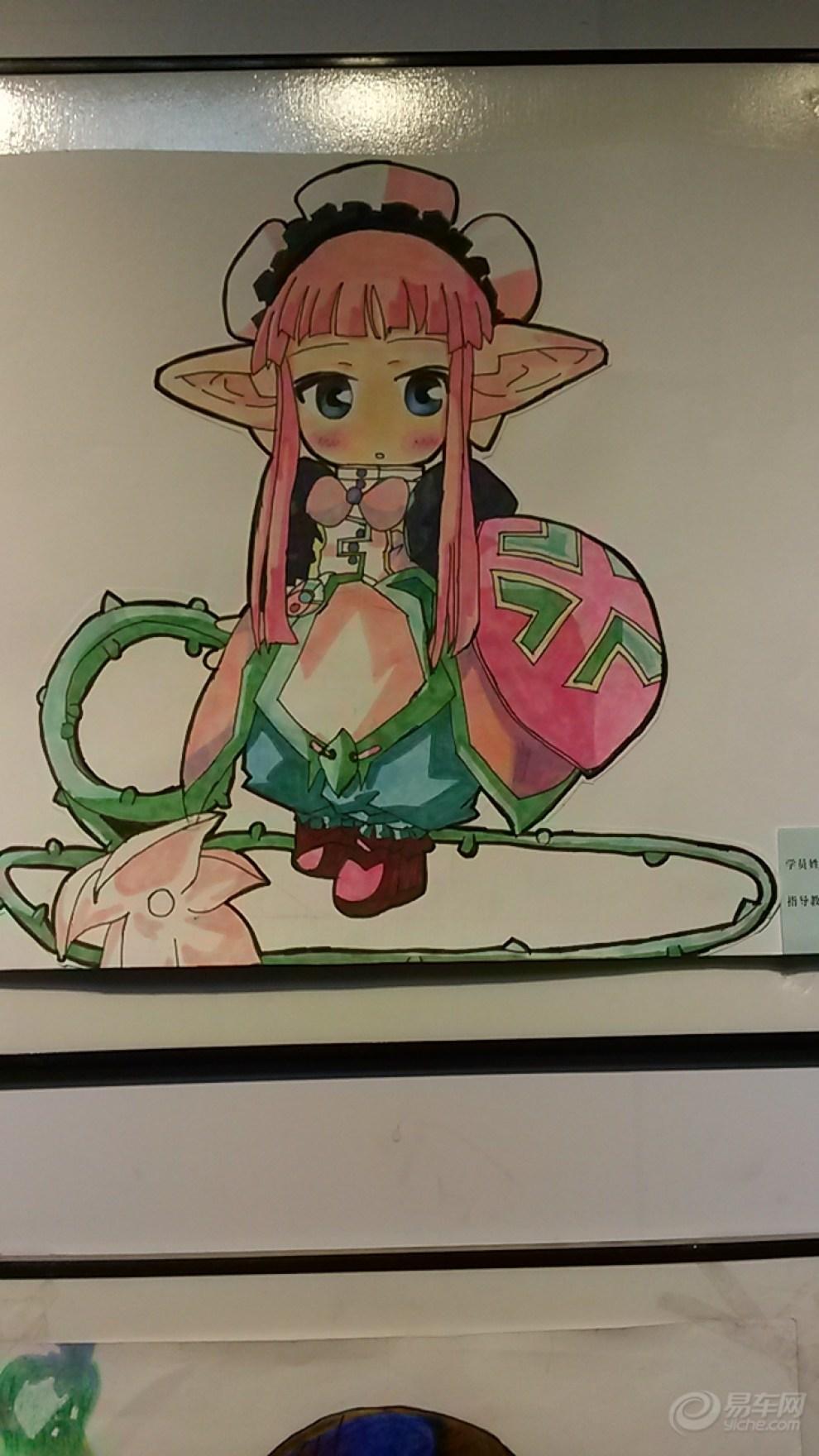 【【孩子动漫画作品欣赏】】_安徽漫画图片集的论坛隐藏心》《图片
