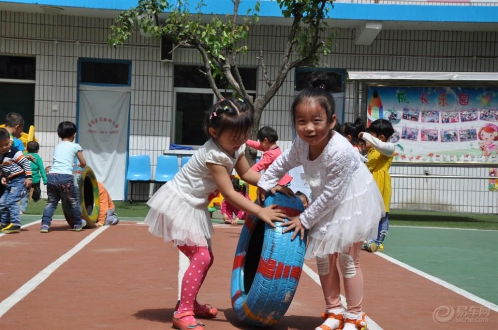 【 原创首发】幼儿园体育游戏妙用废旧轮胎