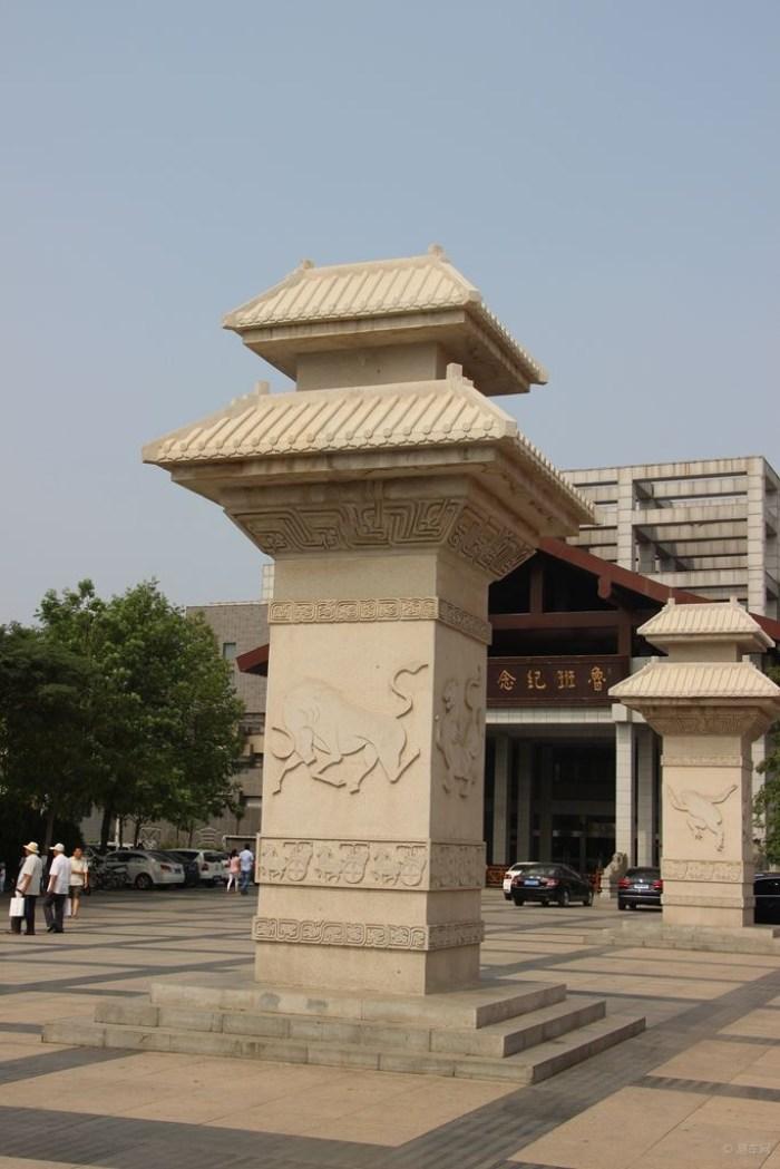 汉阙是中国古代特有的建筑设施,是汉代宫殿图片