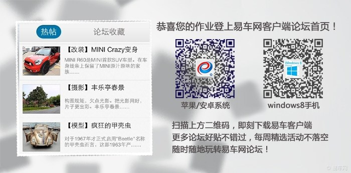 MINI Crazy改装MINI R60
