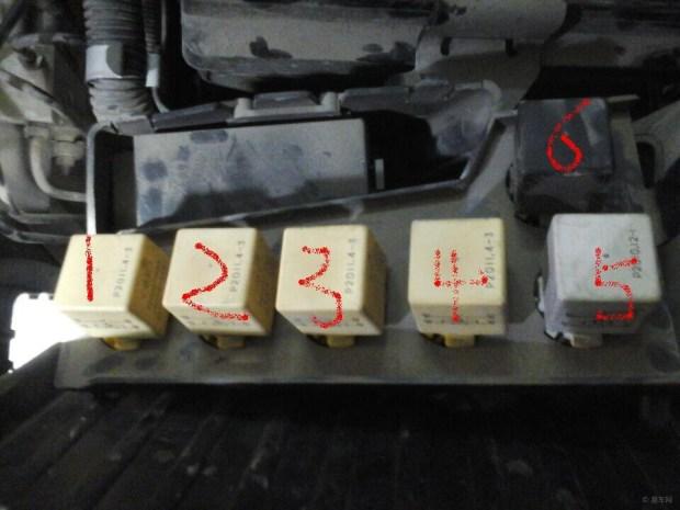 谁知道爱丽舍机舱内的这个几个继电器分别有什么用高清图片