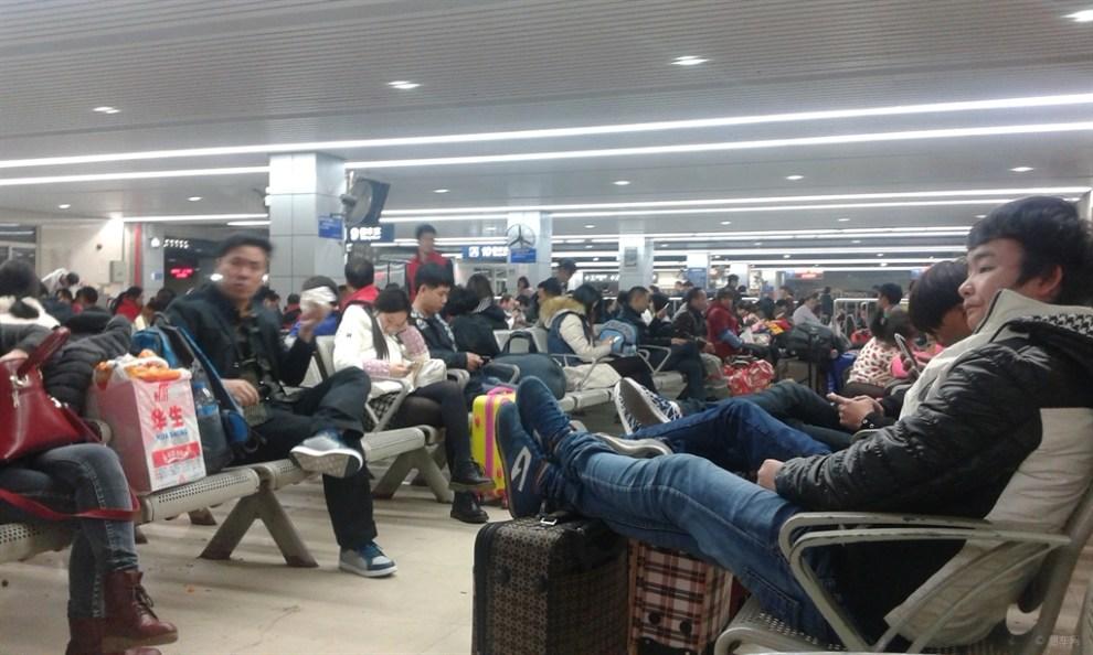 【【申精】广州火车站候车室】_湖南论坛图片