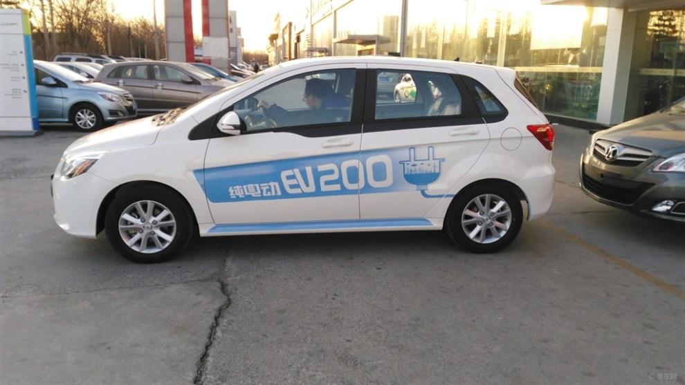 全北京第一家配备E200试驾车的4S店 华威昌业 -北汽新能源E150EV 高清图片