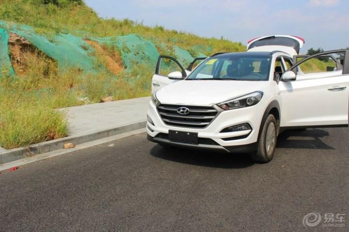 全新途胜1.6T两驱智能型简单提车作业高清图片