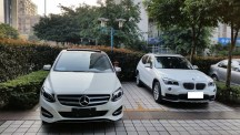 奔驰新款B200时尚型提车,含亲自跑税务局报...
