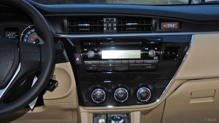 2014款卡罗拉导航+倒车影像+行车记录仪安装全过程