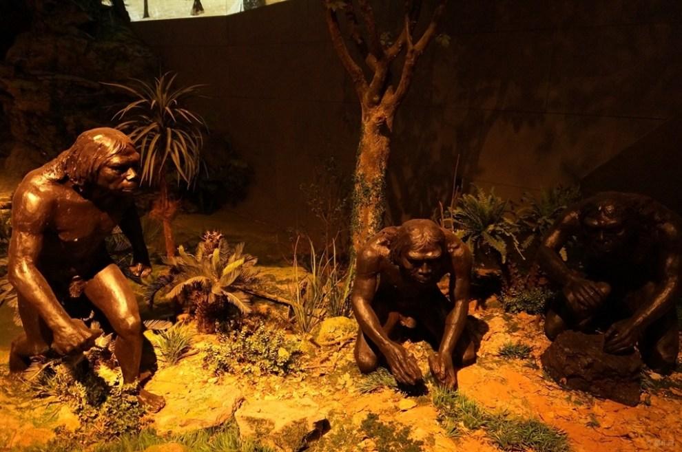 【【原创首发】参观周口店中学遗址博物馆】_怎么样猿人苑高中部师图片