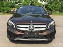 国产版奔驰GLA 260提车作业 购车预算逐渐增...