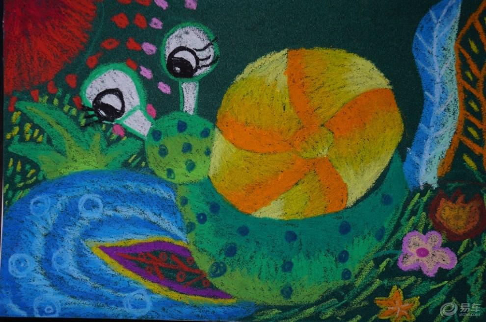 【【镜头看世界】六一儿童节,看绚丽的儿童画】_青海