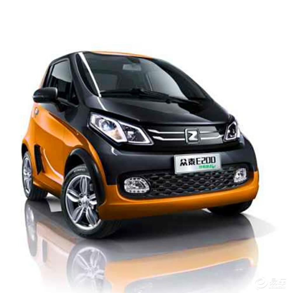 【众泰又一款微型纯电动汽车(E200)河南总代理