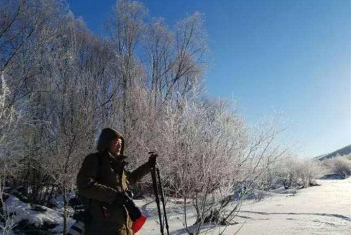 [北方的冬天]美丽的家乡——阿荣旗库伦沟林区