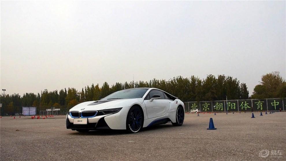 宝马i8和其他新能源汽车场地极限驾控爽玩 -宝马i8论坛图片集锦图片