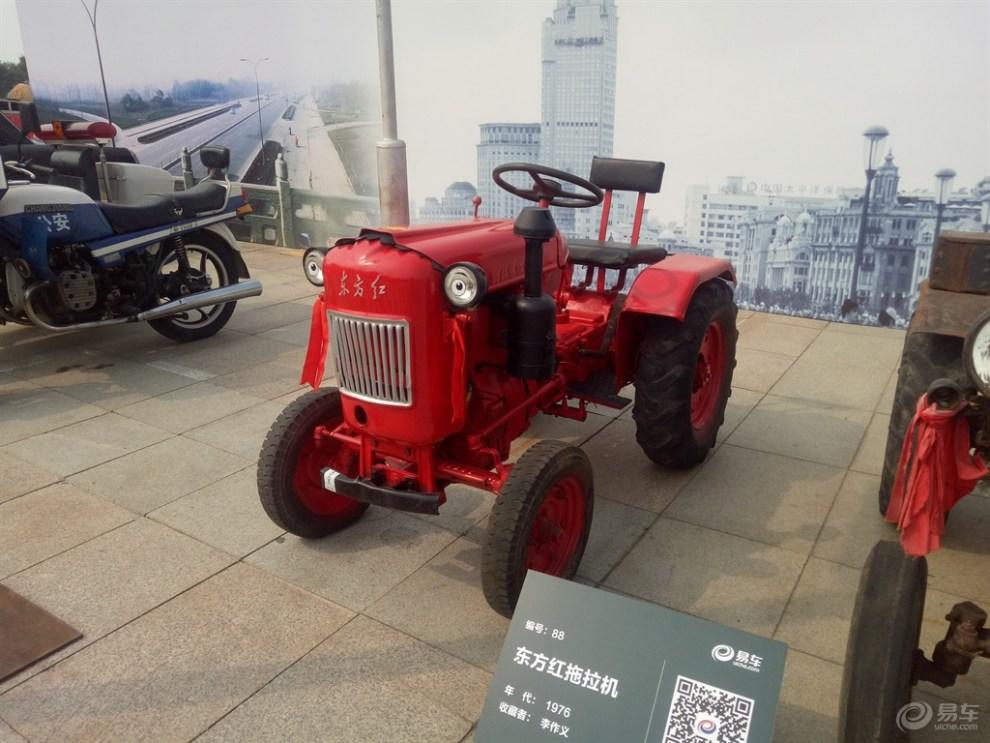 老爷车欣赏:东方红拖拉机