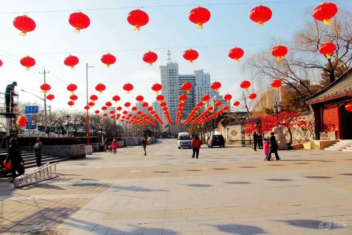 #晒家乡年俗 赢新春大礼#春节看车,游红楼庙会