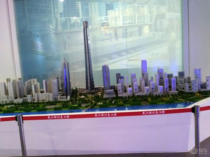 武汉的城市规划模型