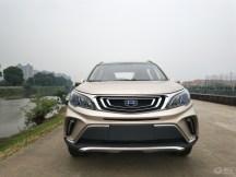 女司机的绝佳选择——小型SUV吉利远景X3手动...