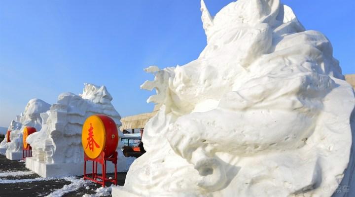 冰原花絮,雪堡美景
