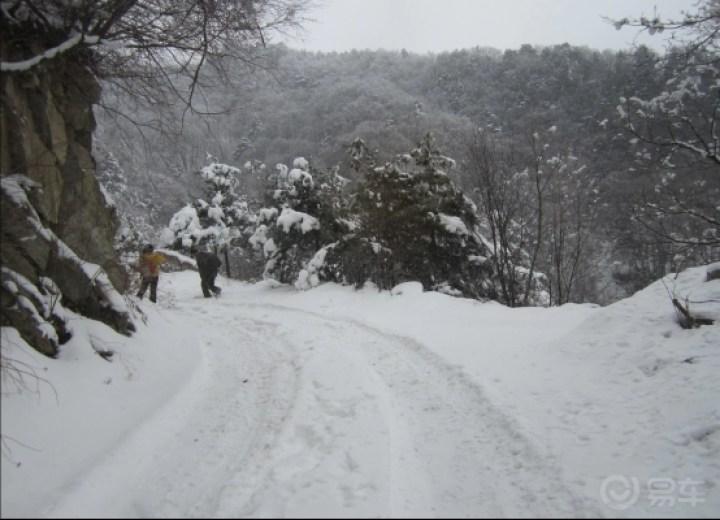 雪地车秀和老鸦岔