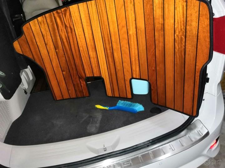 G10改装木板脚垫