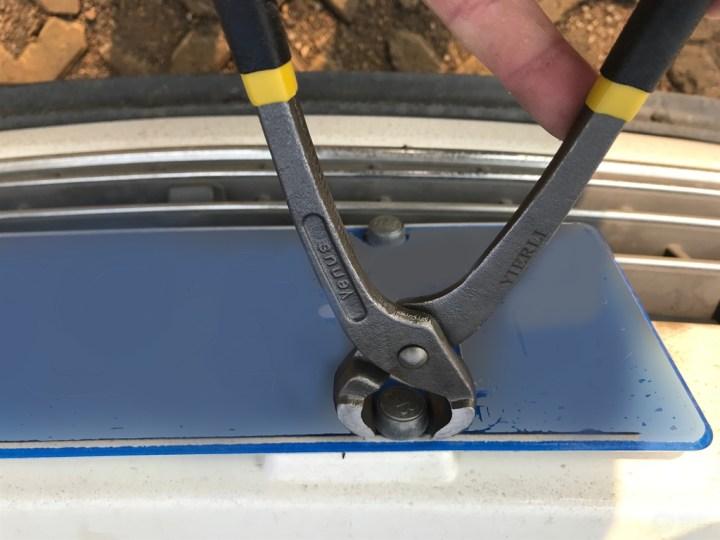 自己动手安装Cp框架 更换轮毂盖