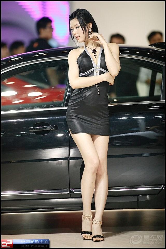 【韩国当红模特黄美姬】 汽车图吧