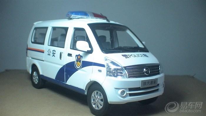 陕汽通家福家警用面包车