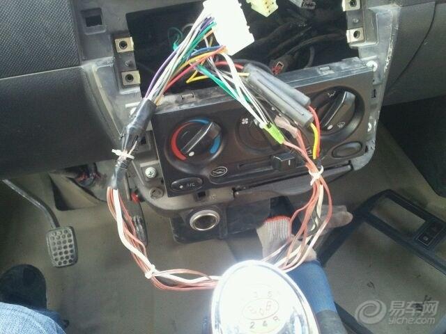五菱荣光加装北京现代悦动CD机超强悍 -荣光高清图片