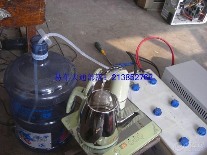 大通改多用途房车24步:安装烧水快壶和电压力锅解决吃喝问题