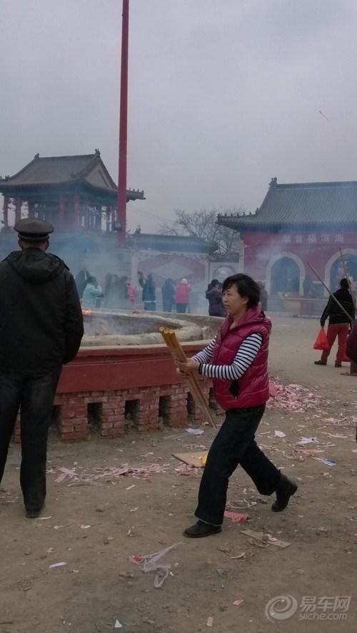 2013年3月30日塘沽潮音寺赶庙会