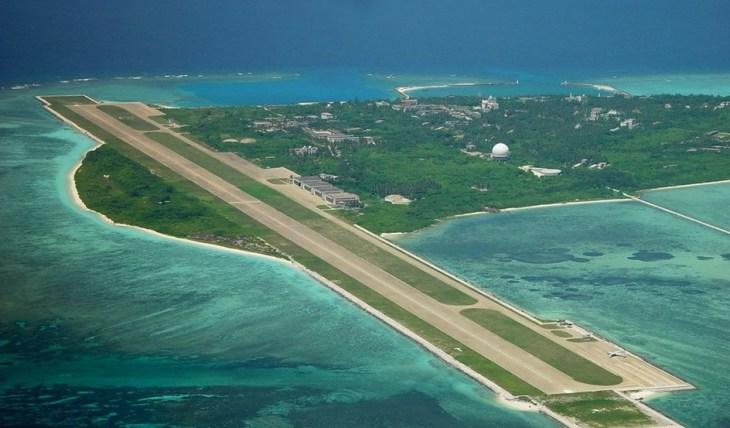 整个东沙群岛海域面积广