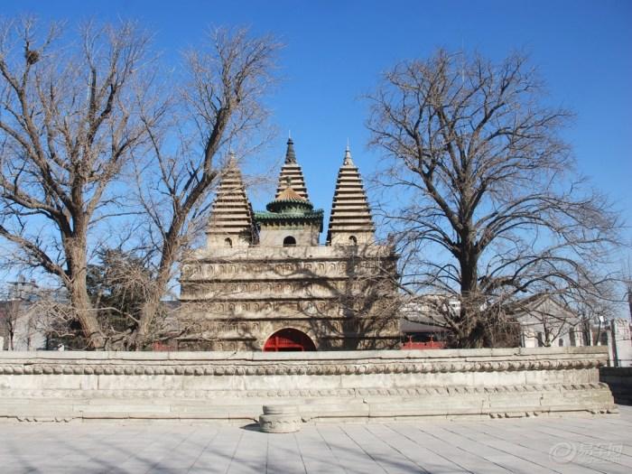 五塔寺图片