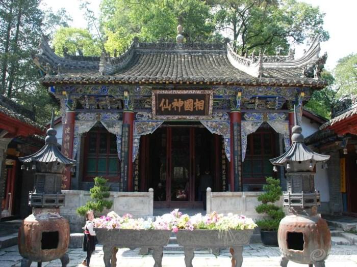 张良庙图片